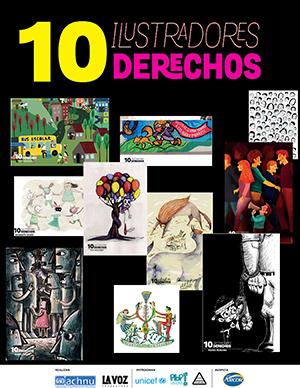 '10 Ilustraciones, 10 derechos'. Campaña digital a favor de los derechos de niños y niñas.
